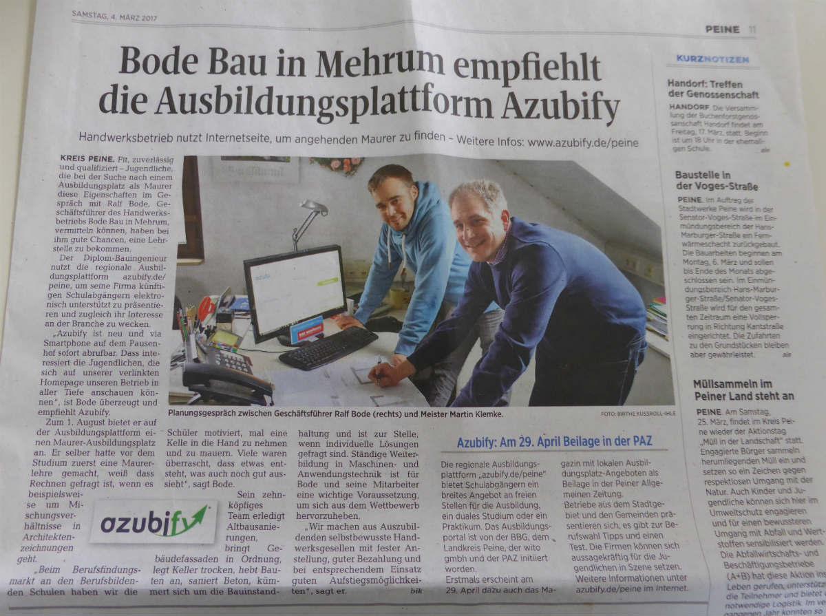 Azubi gesucht – Ausbildungsplattform Azubify soll uns hierbei unterstützen