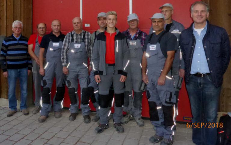 Mitarbeiter Bodebau